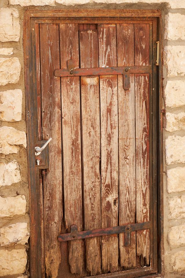 A door in Tsfat.