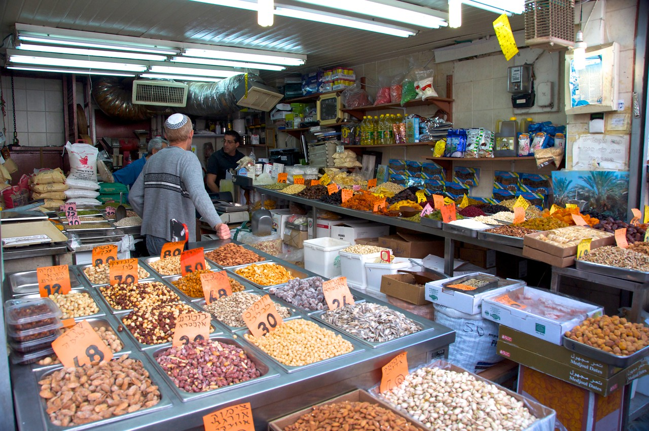 Levinsky Market is Best Place in Tel Aviv to Buy Spices, Dried Fruits and A Variety of Legume