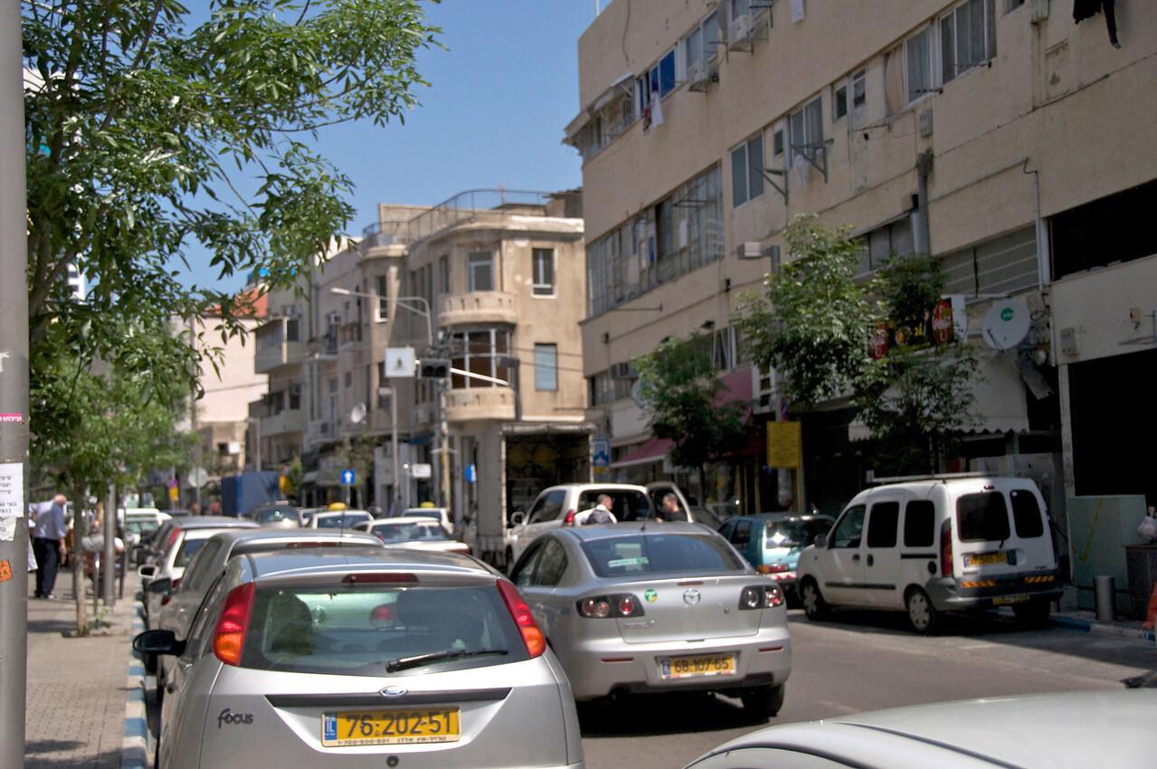 Beginning of Levinsky Street