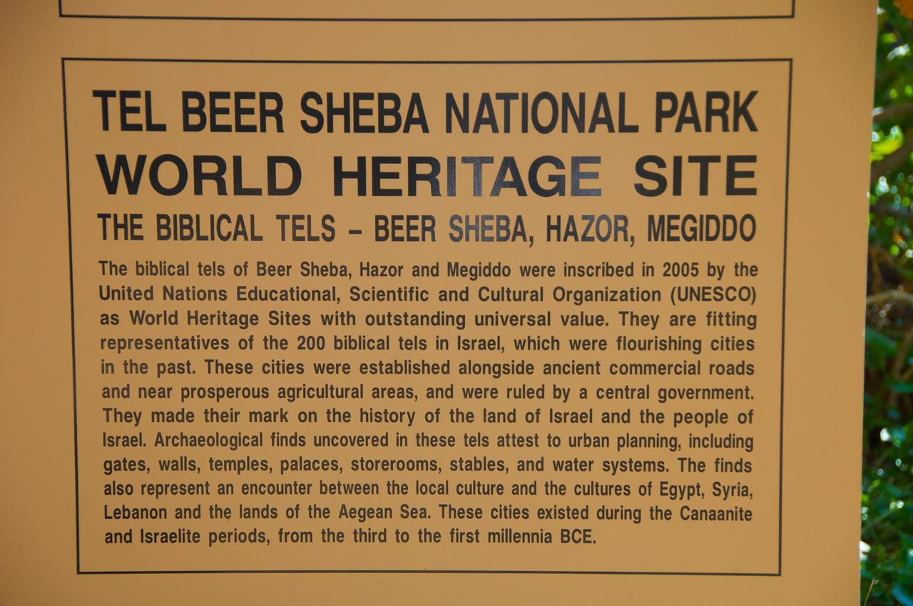 Background Beer Sheba, Hazor & Megiddo