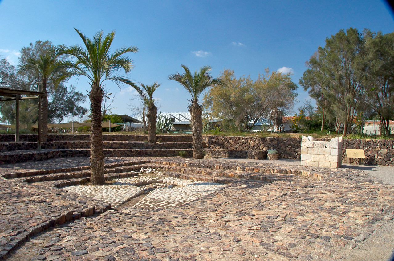 In the 9th century BCE, the town was rebuilt and prospered. The inhabitants of the town were a heathen cult, as shown by the horned altar found on the spot; Jewish law prohibits building an altar of hewn stones. The prophet Amos mentions the town's idolatry.