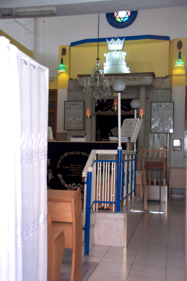 View Inside Synagogue