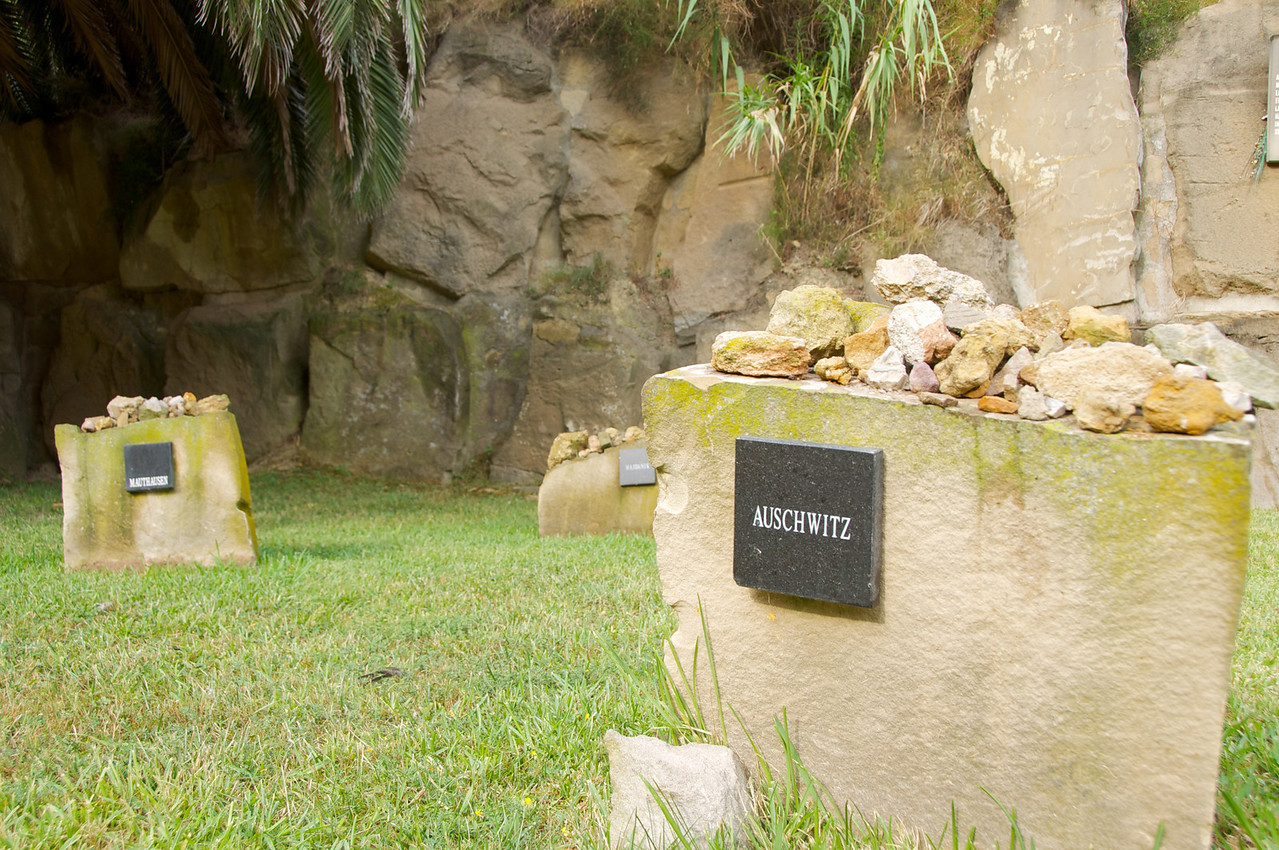 Individual Stones Represent the Camps Where Spainard Were Sent