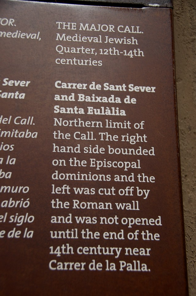 "Sign Outlining Boundaries of ""The Call"""