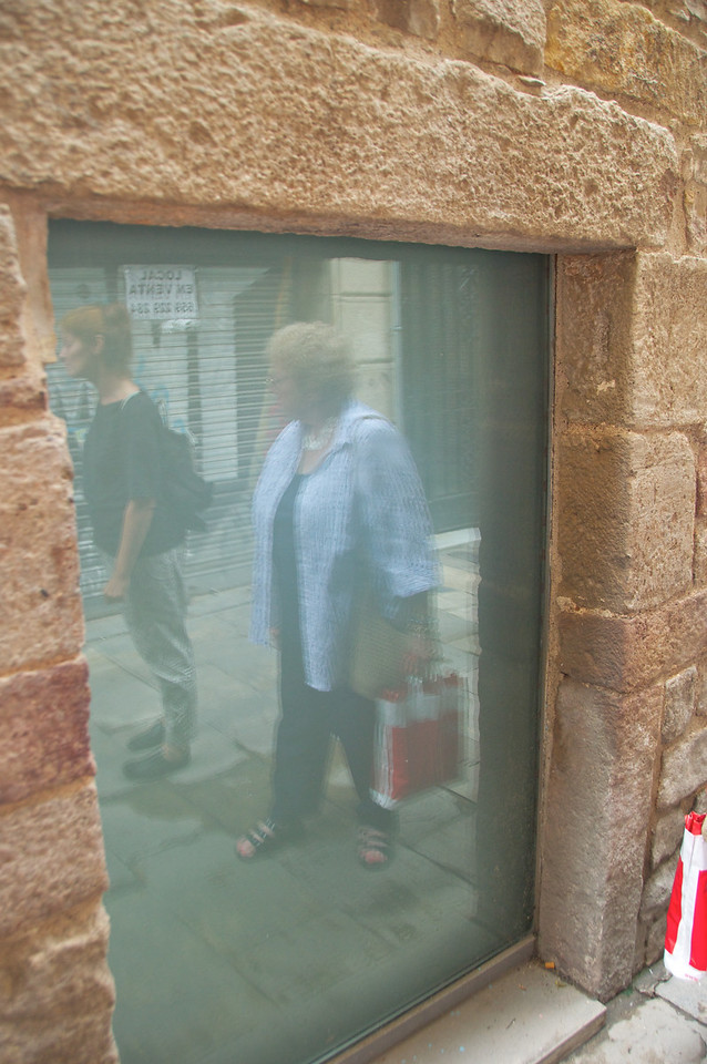 This Was The Entrance To A Synagogue At One Time… Can See Where Mezzuzah Was Attached on Right… Entrances Were Small Doors With Stairs Leading Down For Protection