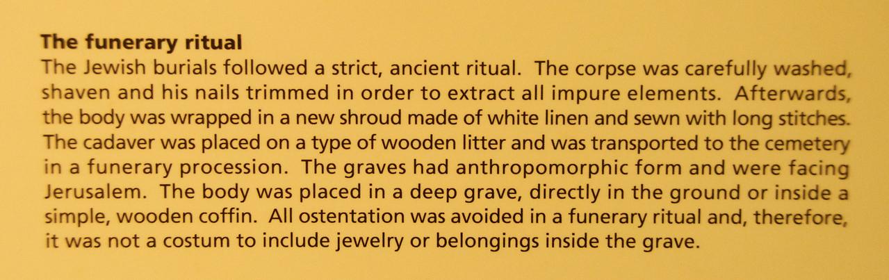 The Funerary Ritual