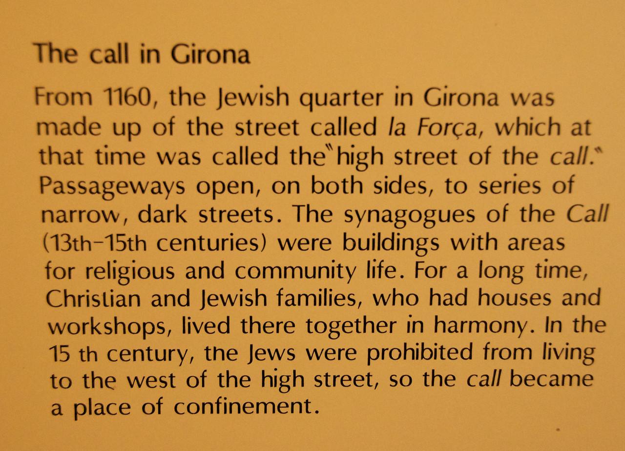 The Call in Girona