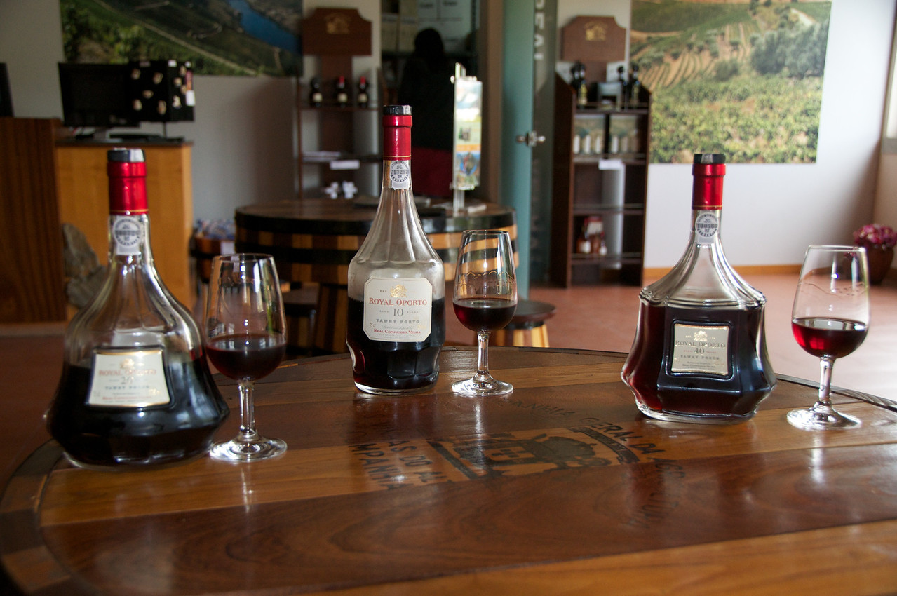 Port Wine Tasting… 10 Years, 20 Year & 40 Years
