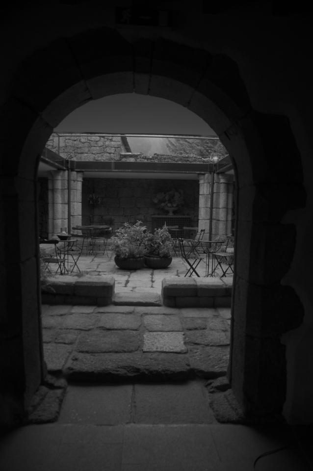 Courtyard of Posada…Hotel in Belmonte