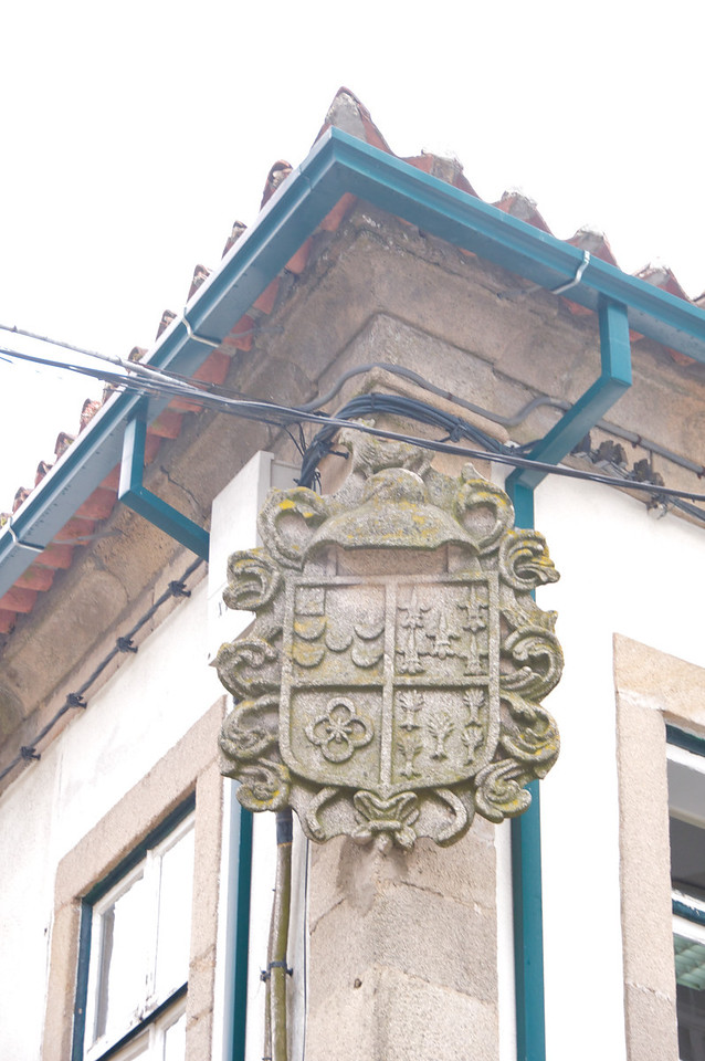 Coat of Arms Indicates At One Time A Noble Family Lived Here