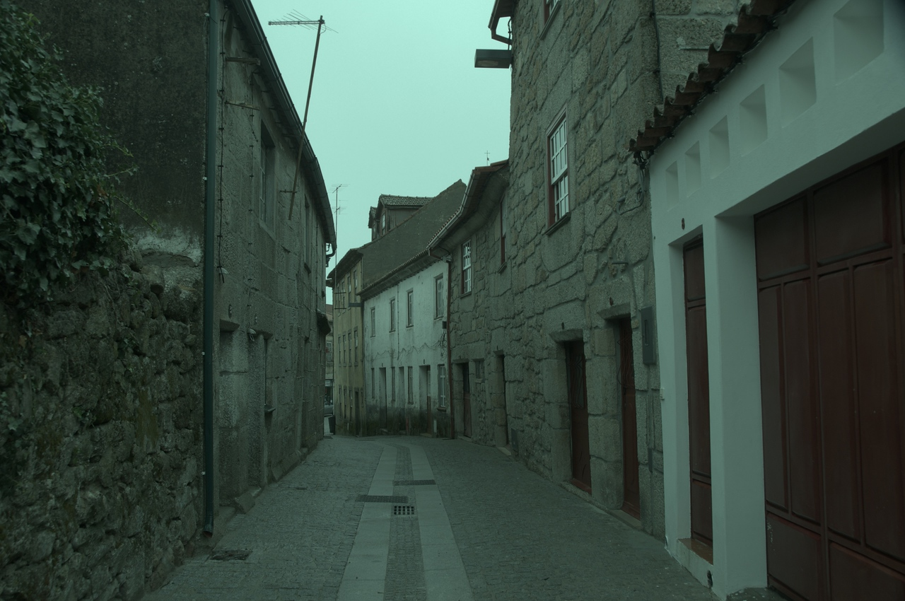 Street in What Was Once The Jewish Quarter