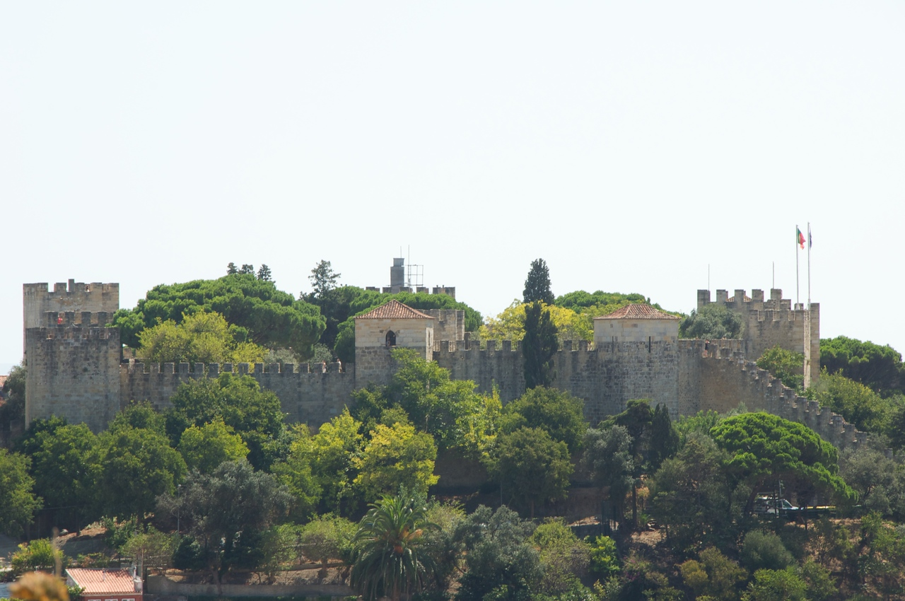 Castle of St  George…Where Lisbon was Originally Settled