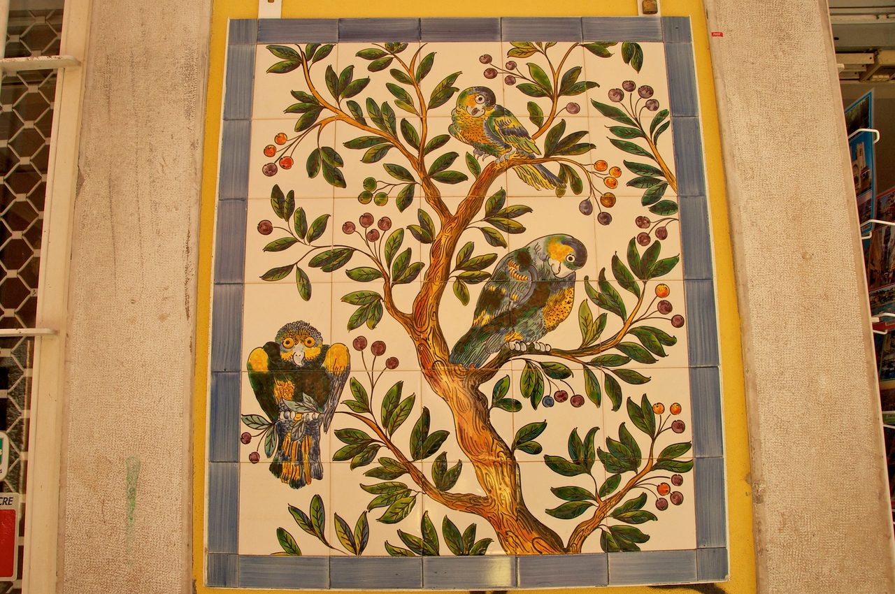 Example of Portuguese Tile