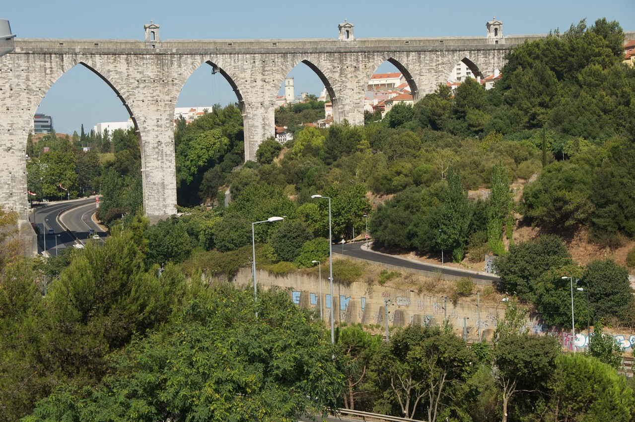 Aqueduct was 25 Meter Long (15 Miles)