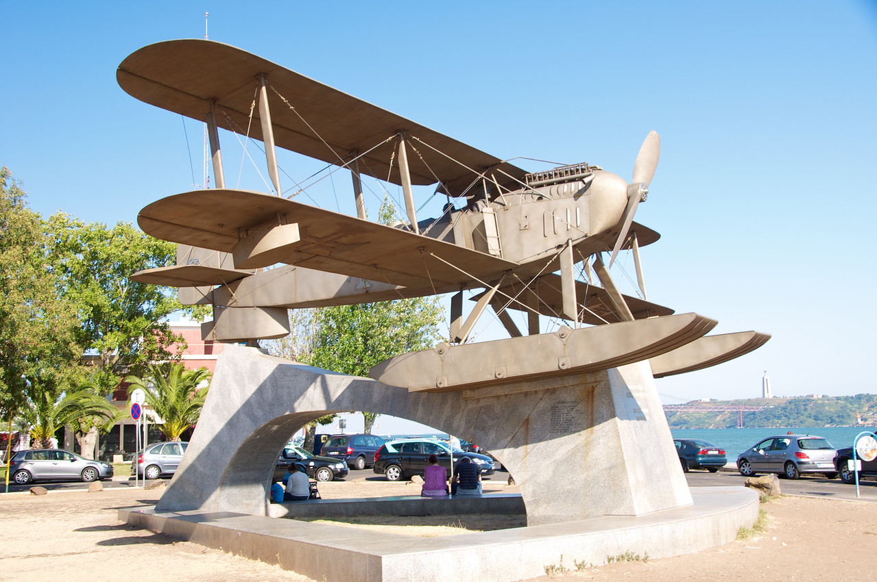 Monument of Sea Plane Flown from Lisbon to Rio de Janeiro in 1922 (60 Hours)