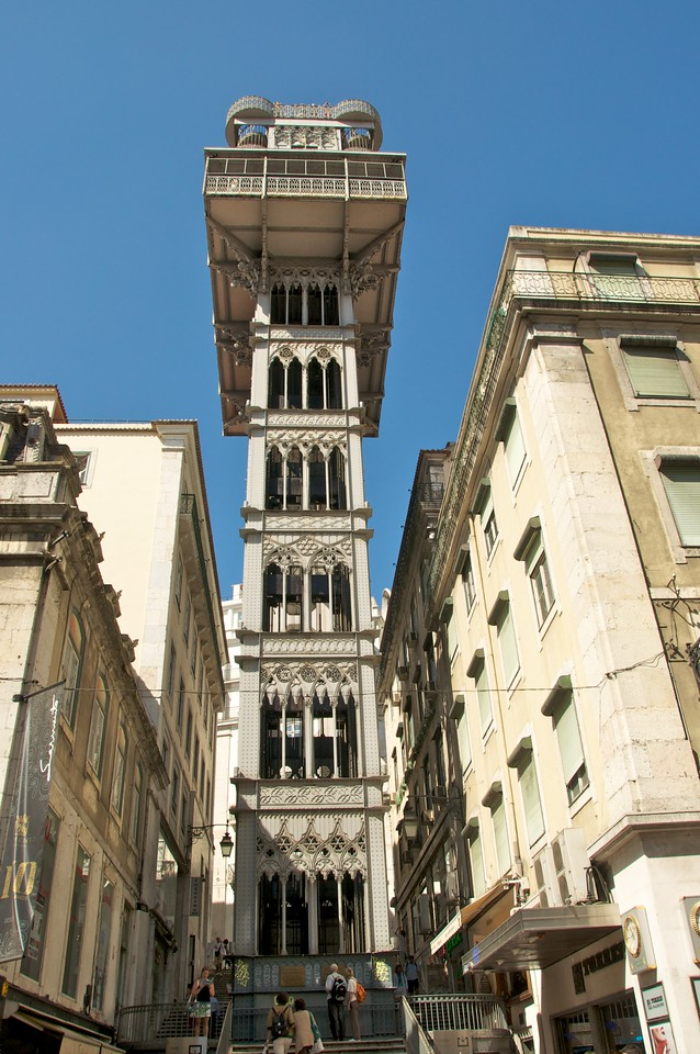 Elevator from Rossio (Downtown) to Carmel Square
