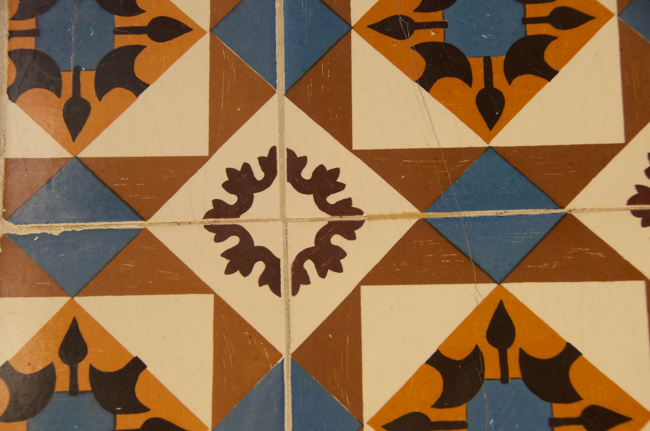 Portuguese Tiles Cover Many Houses…Protects from Weather…No Painting