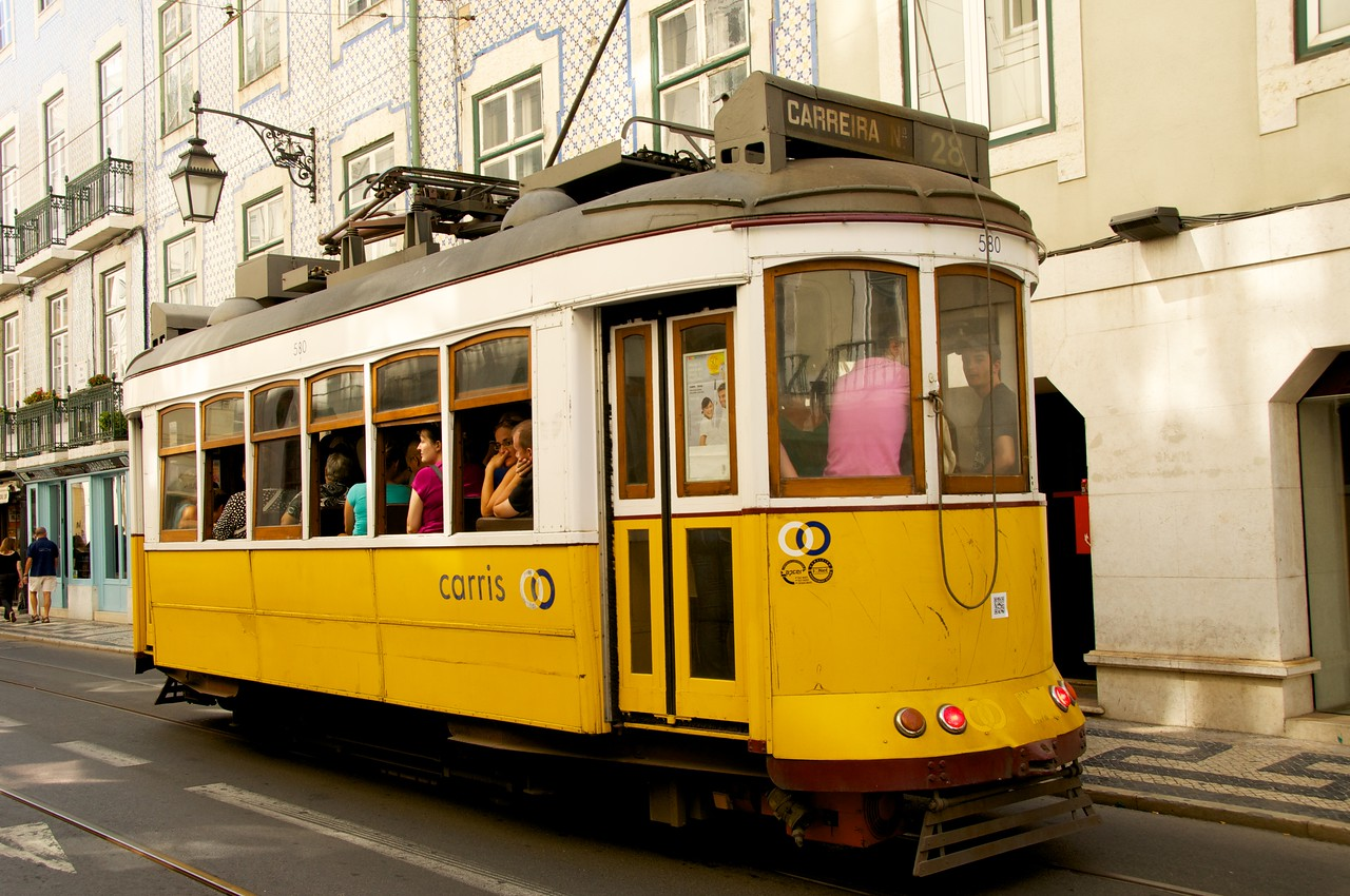 Tram…#28 Covers The Greatest Part of Lisbon
