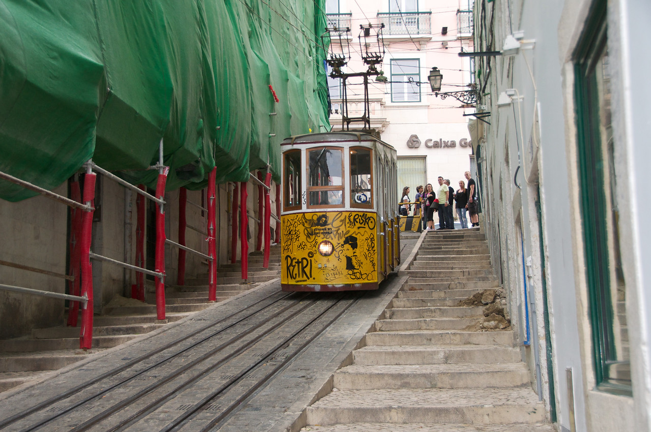 Funicular… We Walked Down… And, Eventually Back Up