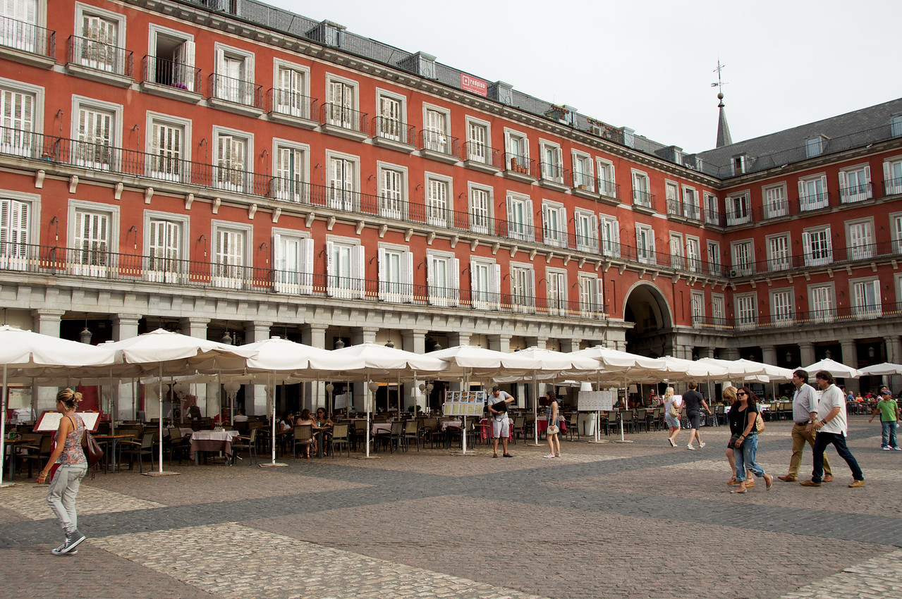 Appartments, Tapas Bars in Plaza Mayor