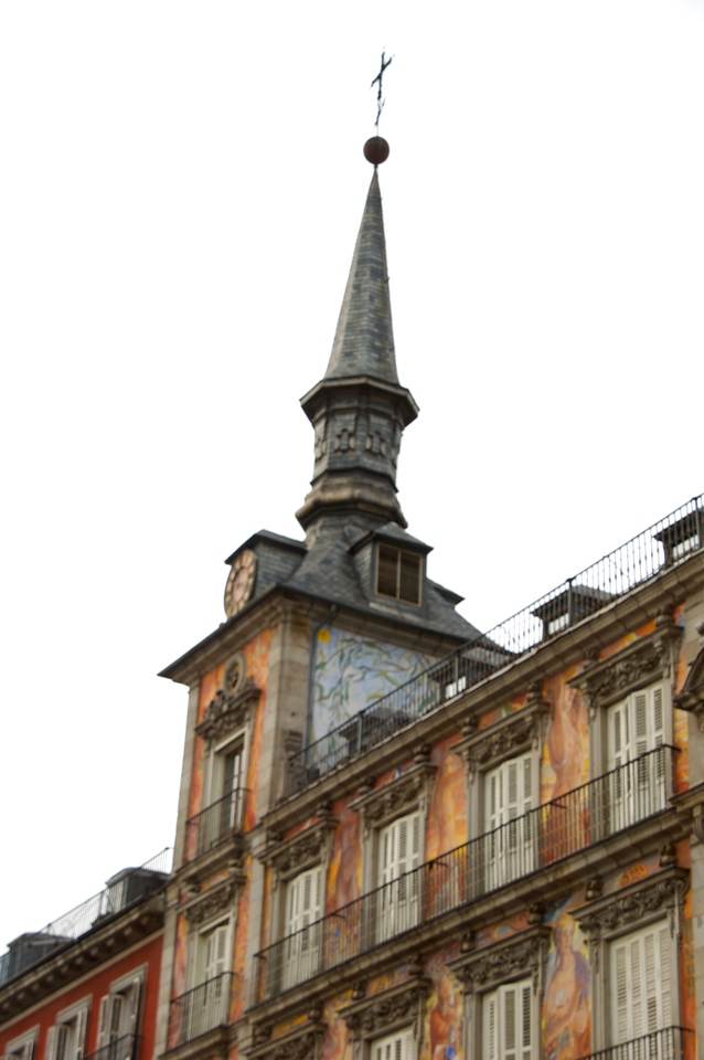 """Plaza Mayor…477 Apartments Around Plaza…Bull Fights Held Here and Inquisitions Proving """"False Christians"""" (1)"""