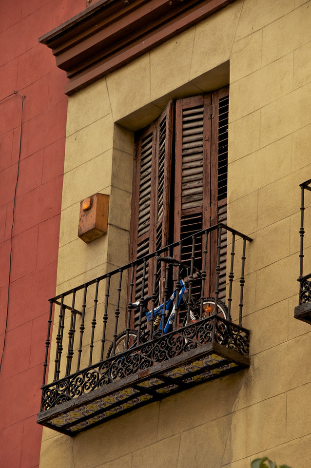 Bikes Kept on Balconies