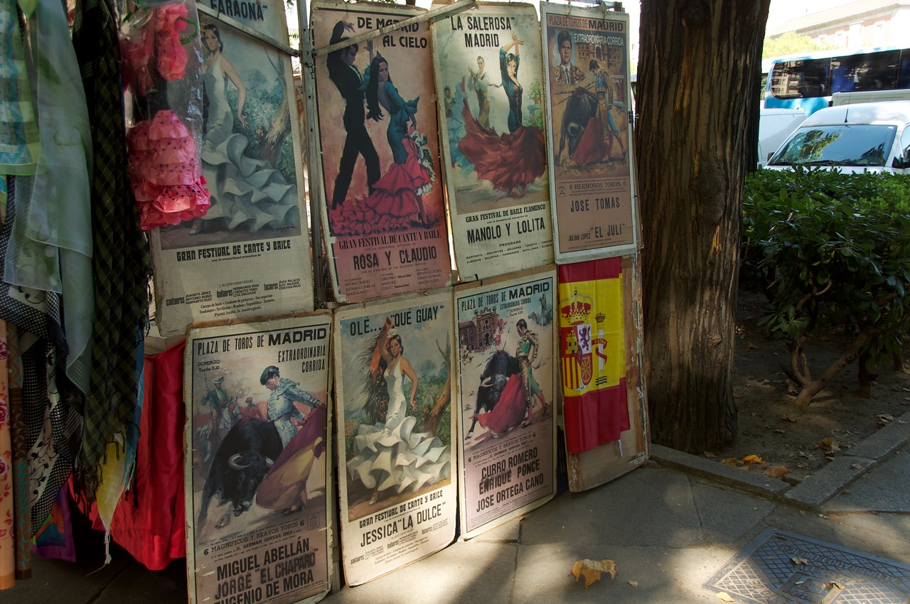 Bullfighting Posters… Catering To Tourist Near The Prado
