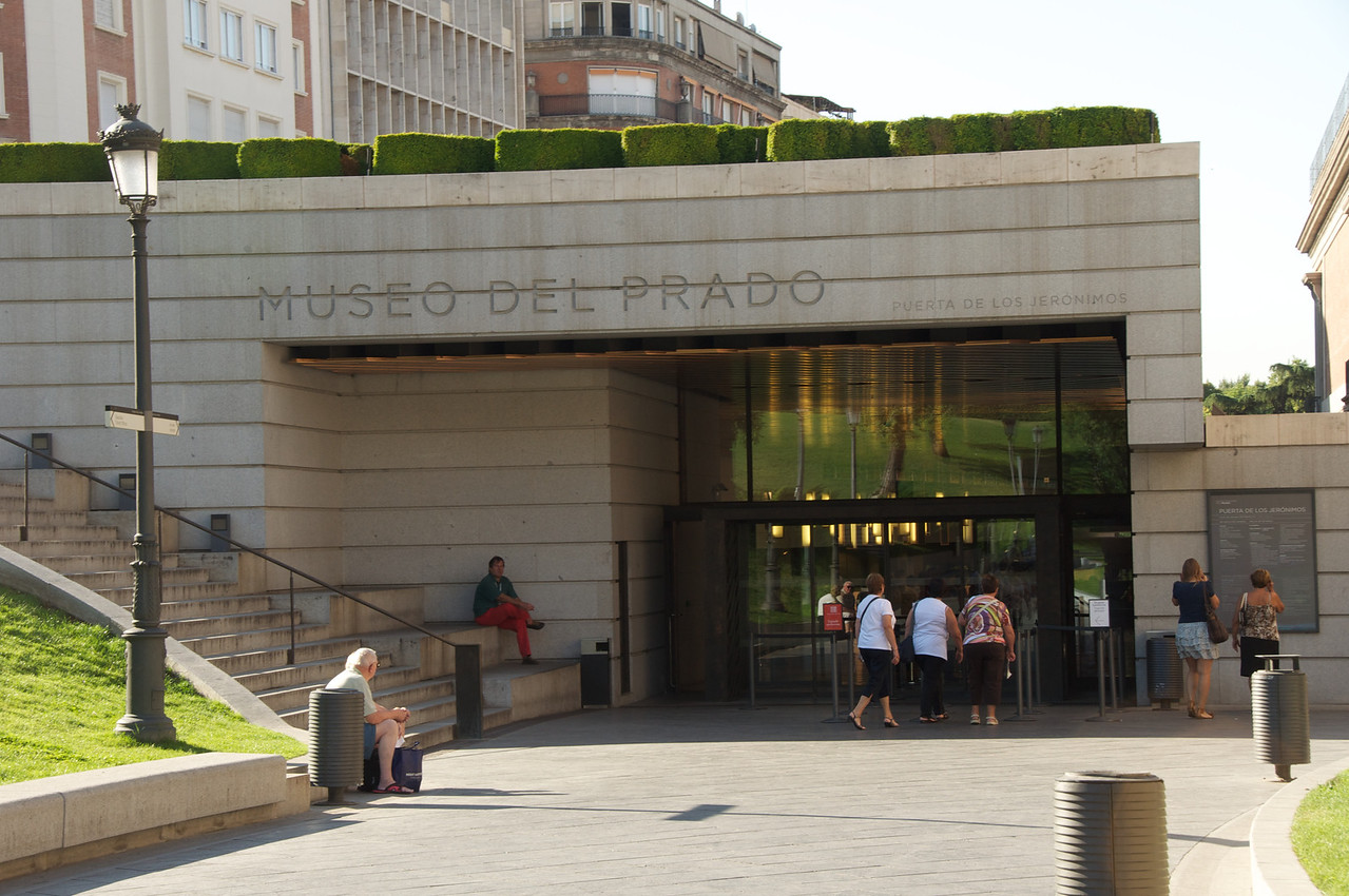 The New Entrance To The Prado and Part of The New Extension (8 years old)