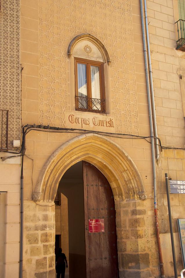 Convento of Corpus Christi…Was  Sinogoga Mayor until 1419
