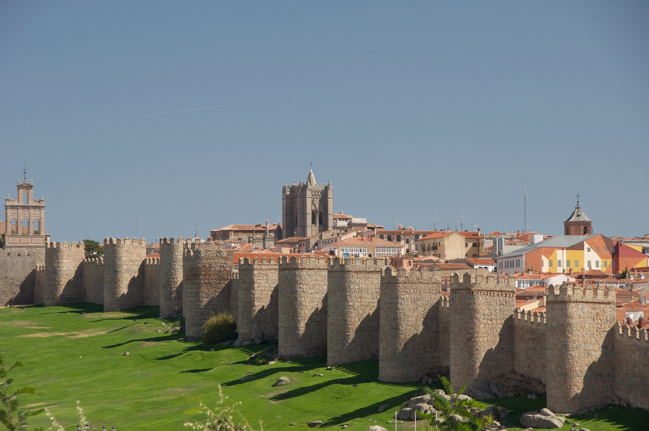 City Walls of Avila…Have Become The Symbol of The City…88 Towers in Total