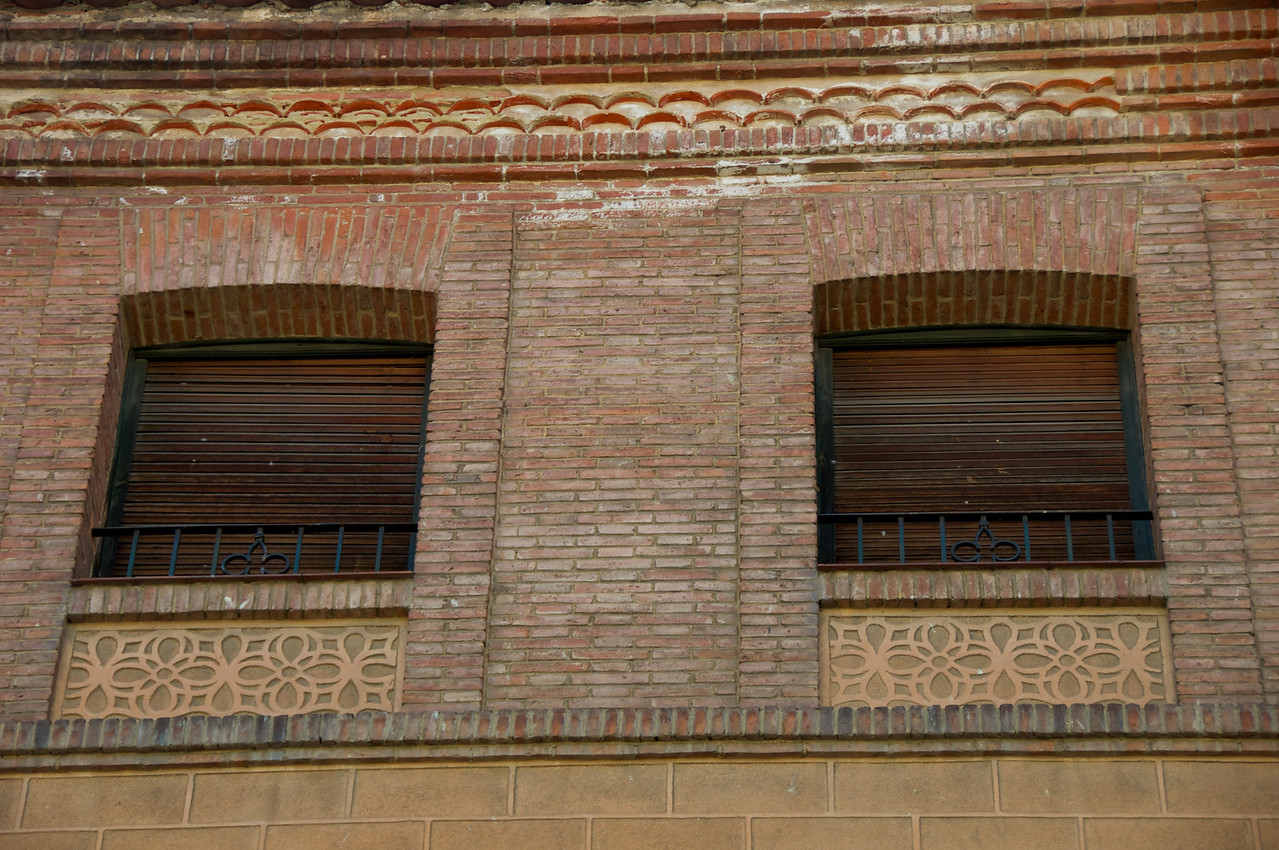 Tiles Beneath The Windows Are A Classic Segovia Pattern