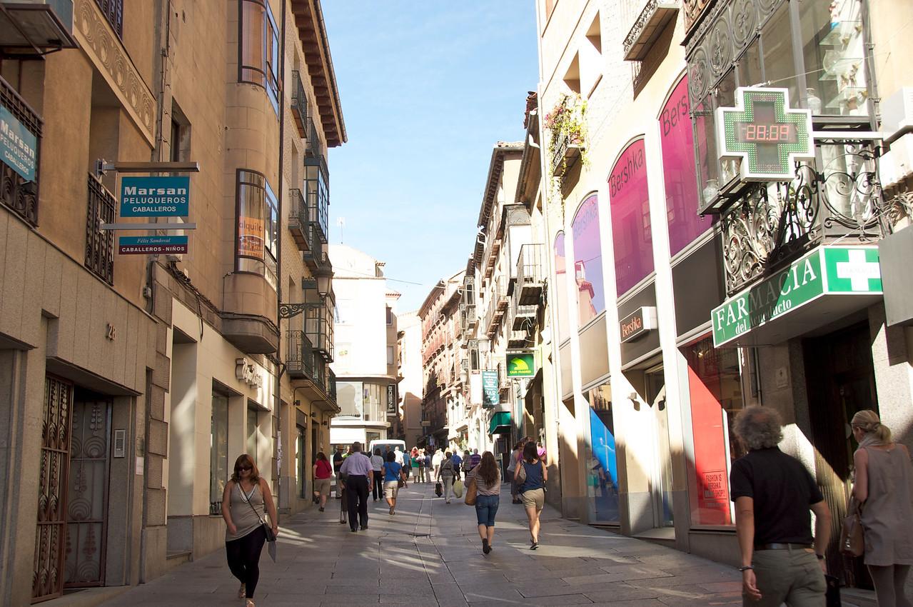 Main Street of Old Segovia