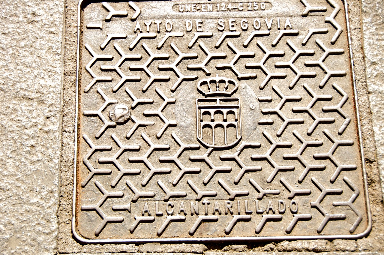Water Drain with Emblem of Segovia, The Aqueduct