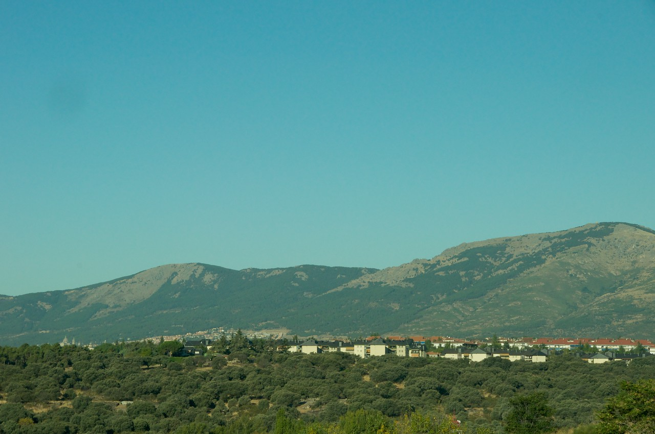 Scenery from Bus…Maesta Central Mountain Range Runs East to West Dividing Spain into North and South