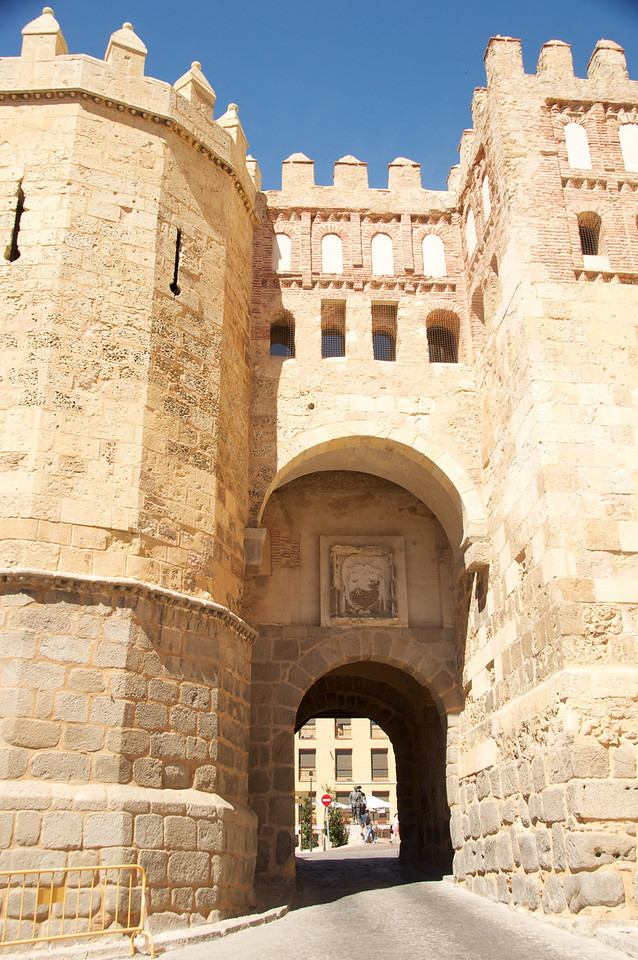 Puerta De San Andres   Segovia City Gate Jews Used To Access The Judaria