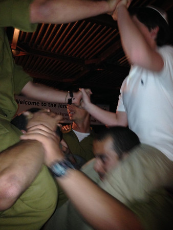 Sat-Sun, Mar. 8-9 Havdala with Soldiers, Old City, Western Wall Tunnel, Dinner with Lone Soldiers