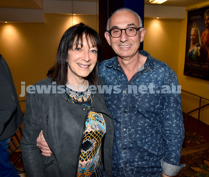 Israeli Film Festival at The Ritz Cinema in Randwick. Aviva Wolff (left), Chani Gelgor. Pic Noel Kessel