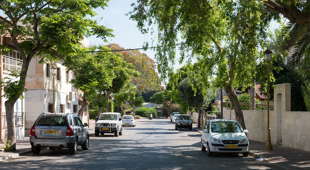 The Main Street of Holon