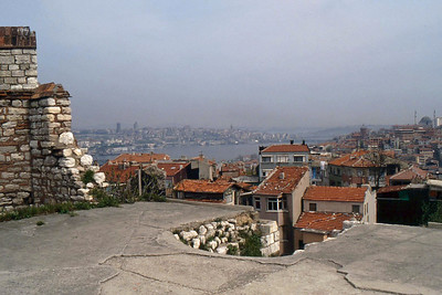 Istanbul from Byzantine CityWalls