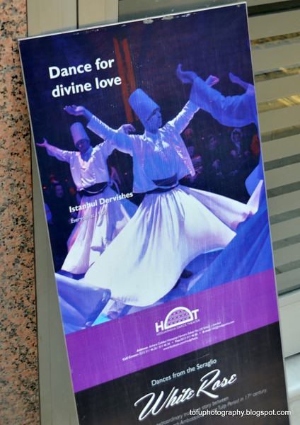 Istanbul Dervishes show in Istanbul, Turkey, in January 2014. Dance for divine love