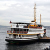 A ferry in Istanbul, Turkey in January 2014