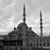 The New Mosque in Istanbul, Turkey in January 2014