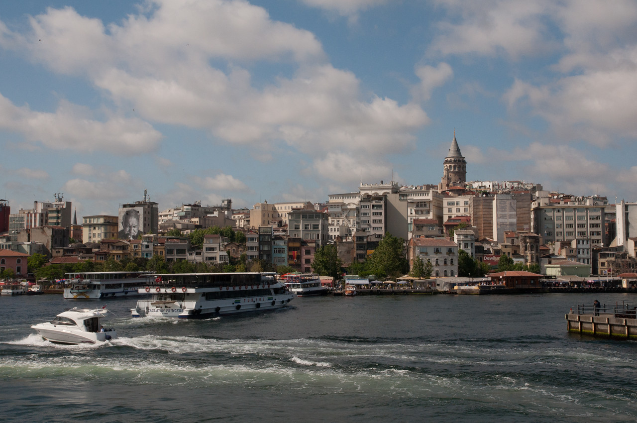 Istanbul is all Busy Water
