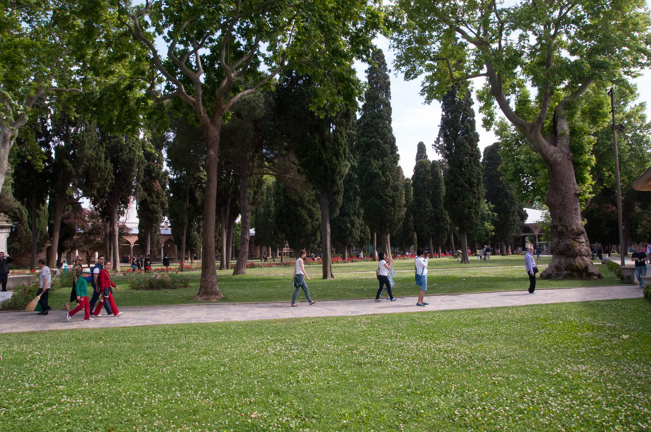 Grounds of the Topkapi Palace