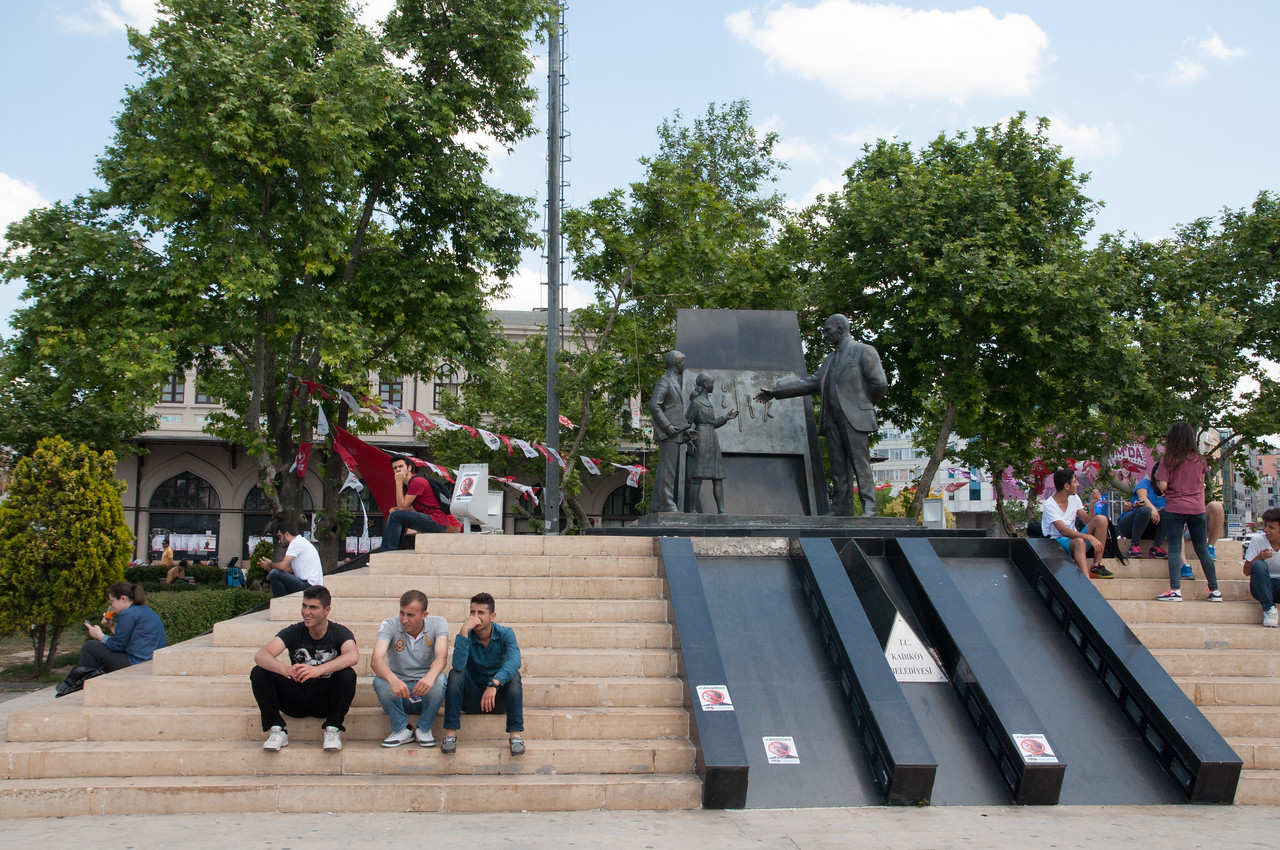 Youth in Park near Ataturk