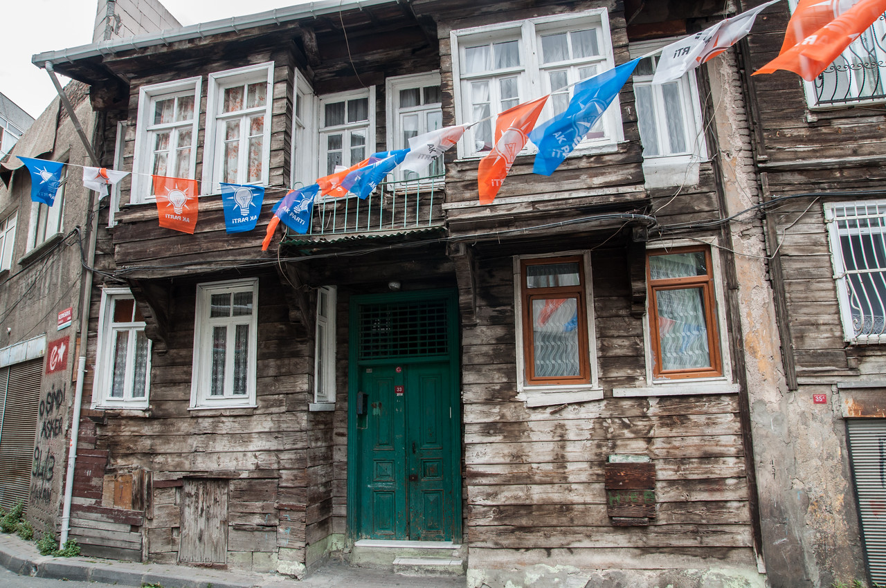 Old Style Wooden House