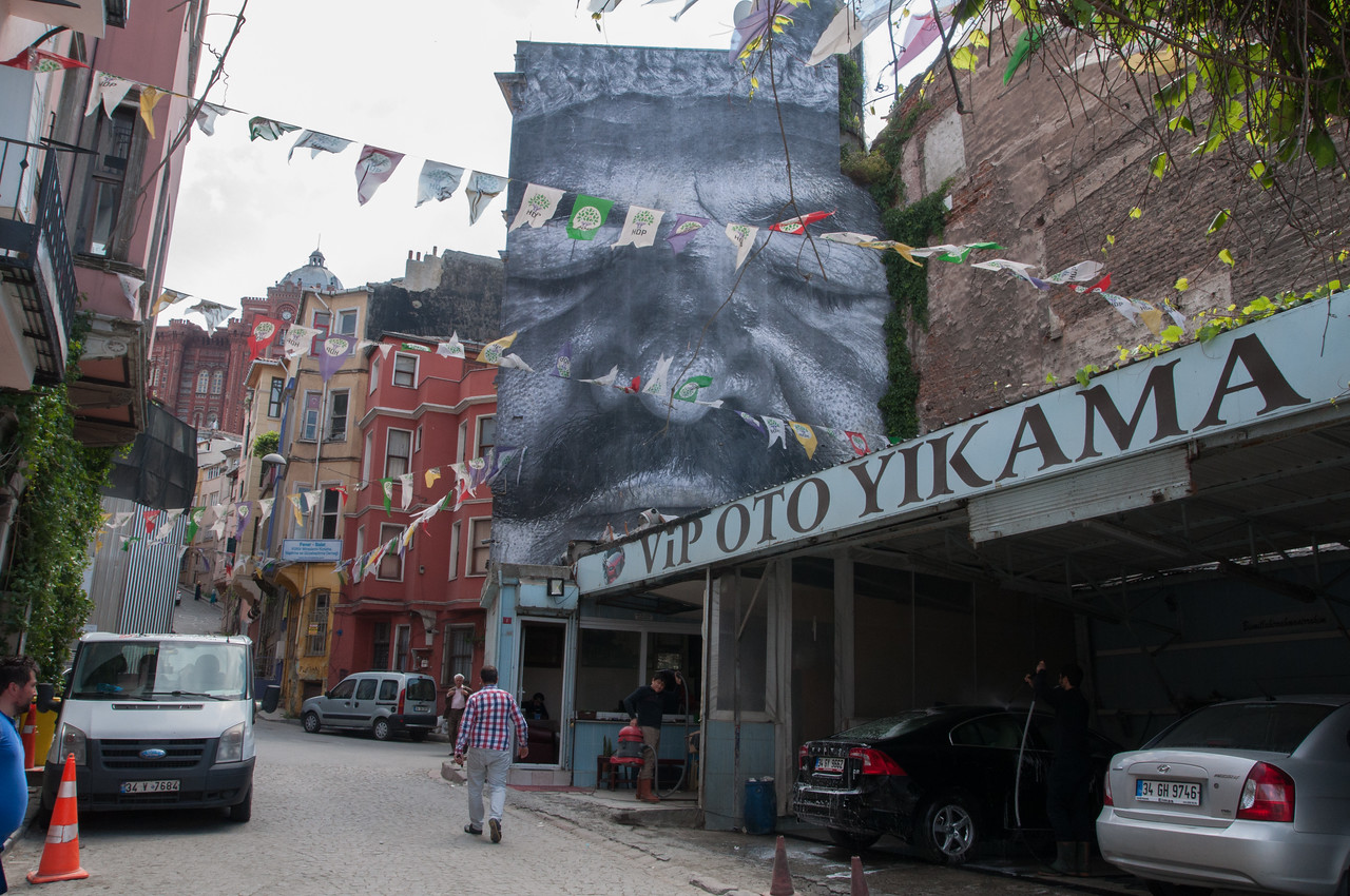 Faces of Istanbul Art Installation