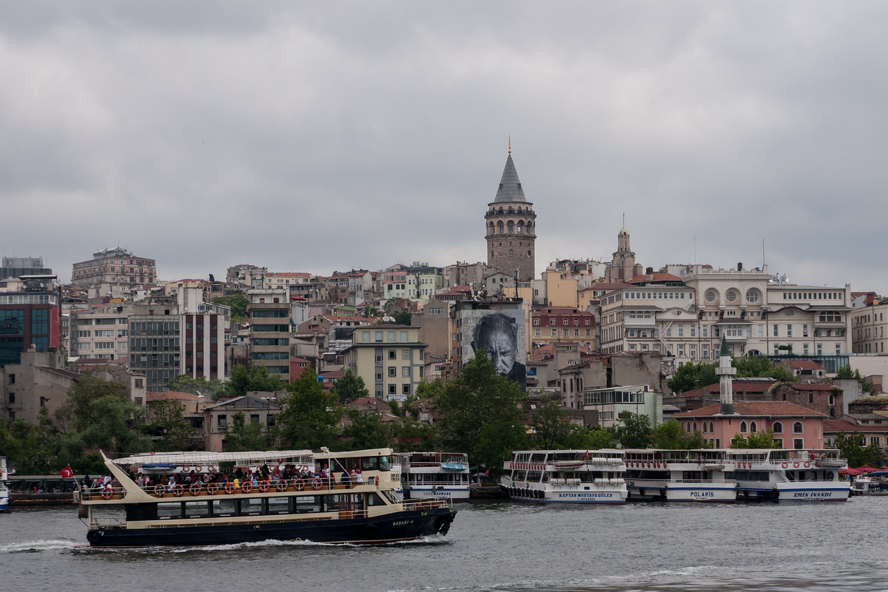 The Golden Horn and Galata Tower