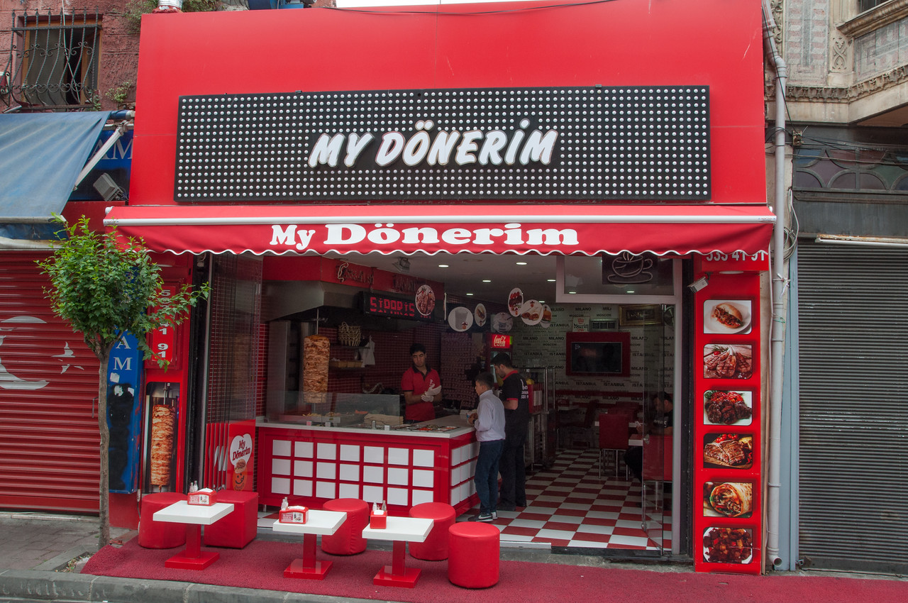I will have a Doner shop and my theme is going to be Red.