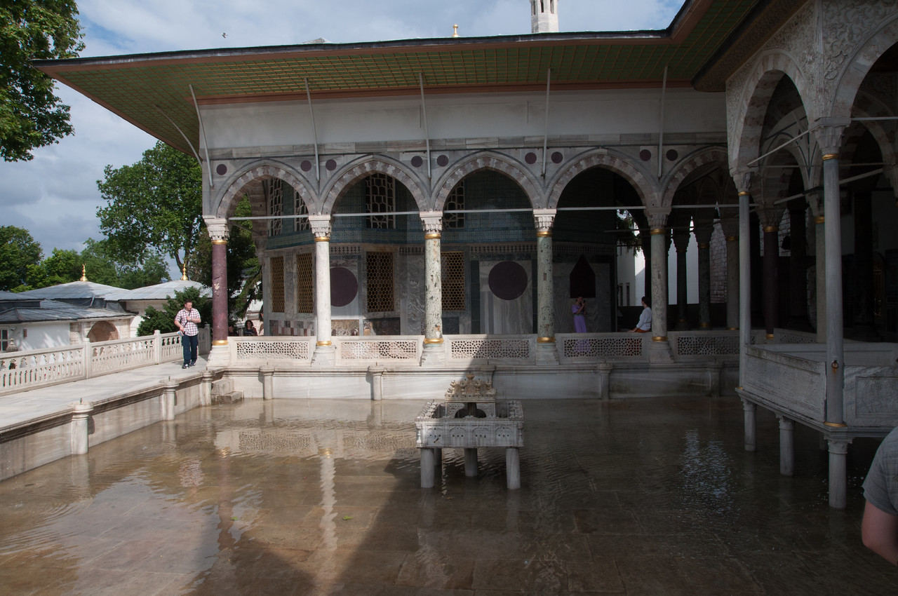 Of the Palaces of Europe I've seen, nothing beats the Topkapi for warmth , location and livability